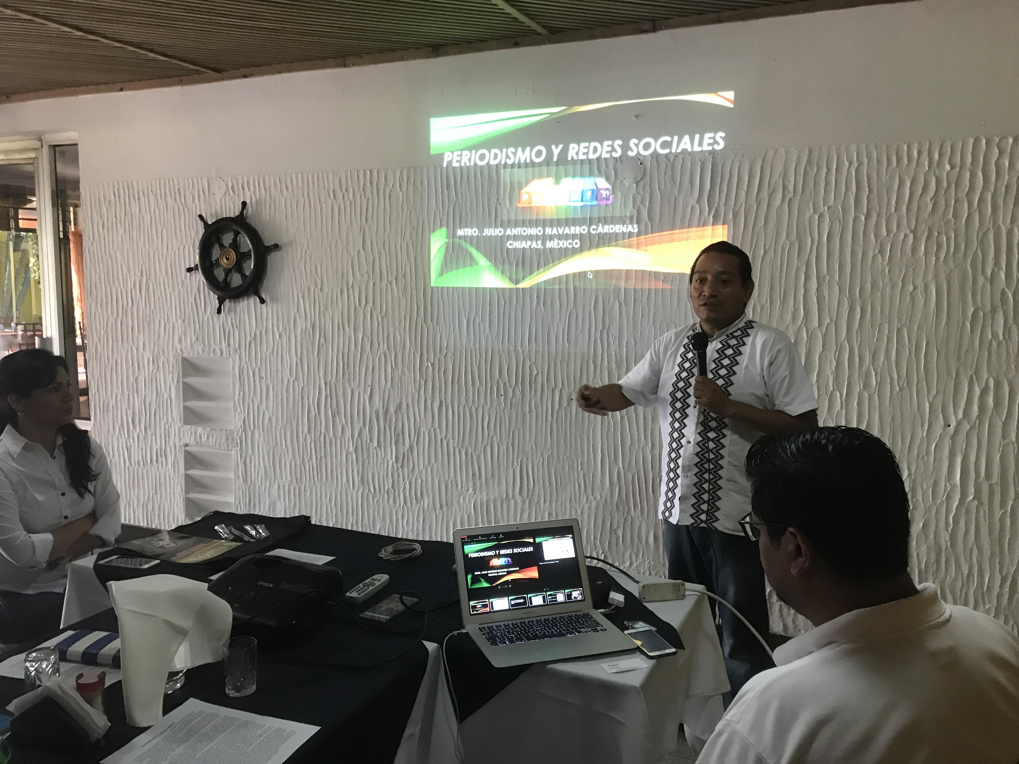 Taller actualización para periodistas de Escuintla