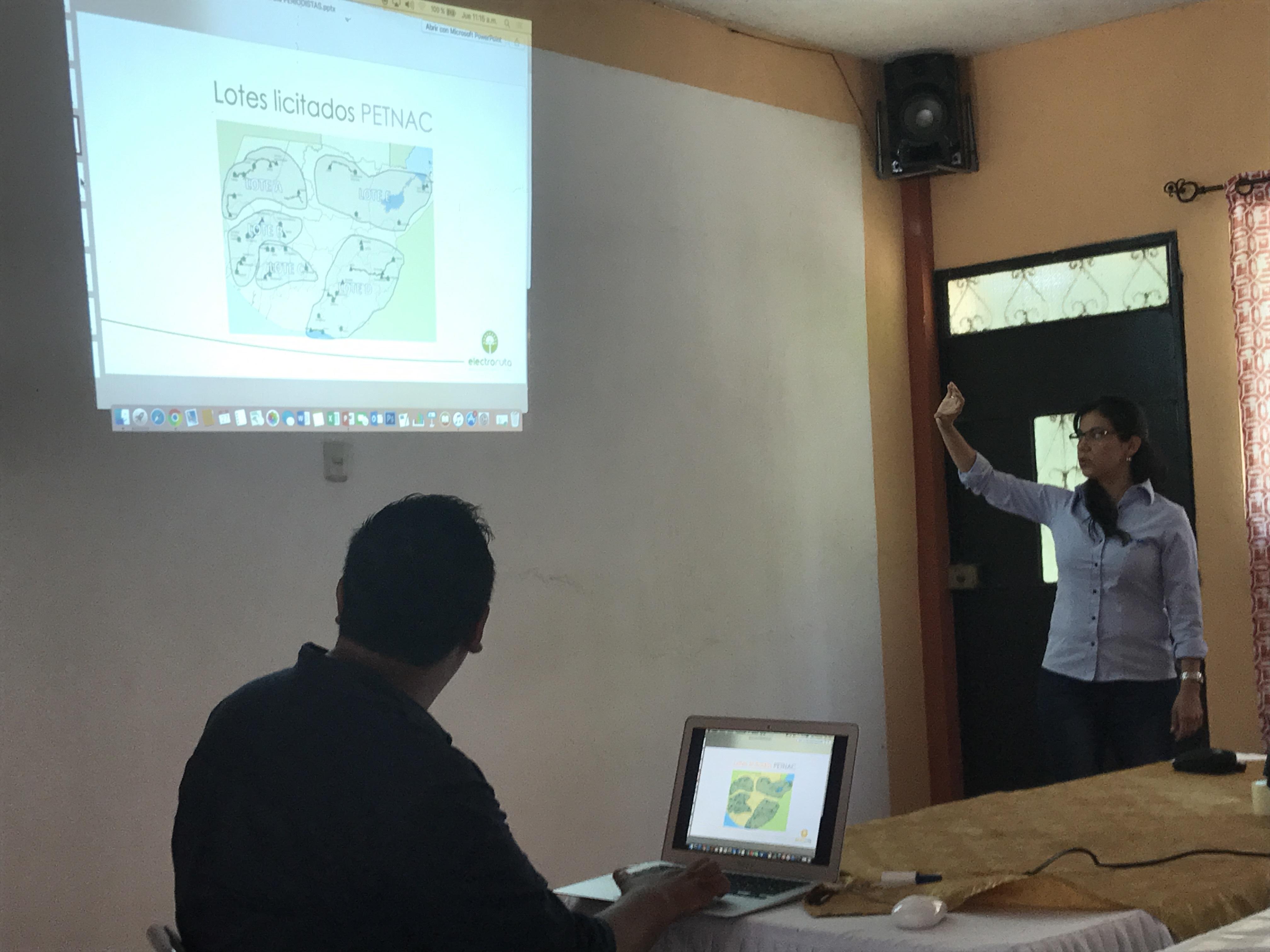 Presentación proyecto Electroruta